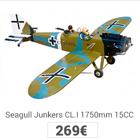 seagull junkers 1750mm