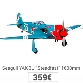 seagull yak-3u 1600mm