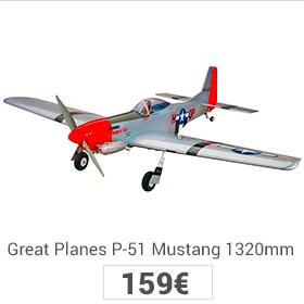 Mustan p-51 great planes