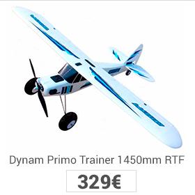 avión primo dynam rtf