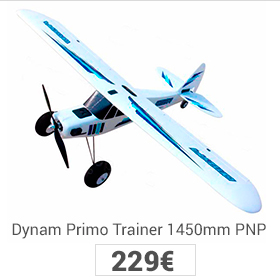 avión primo dynam PNP