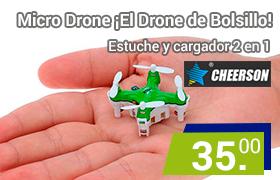 mini Drone cheerson de bolsillo