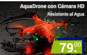 AquaDrone Rc resistente al agua