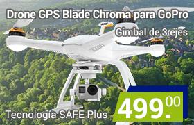 drone chroma para cámaras gopro