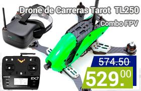 drone de carreras tarot tl250