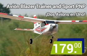 avión blazer trainer and sport pnp 2 en 1