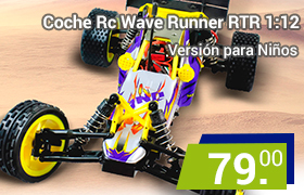 coche rc wave runner para niños