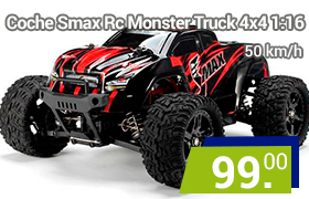 coche rc smax monster truck radiocontrol
