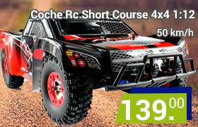 coche rc wltoys short course 4x4
