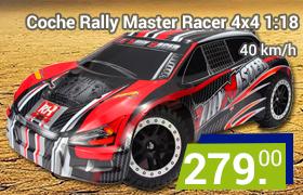 coche rc rally master 4x4