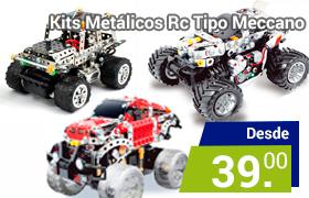kit metálicos para construir por piezas