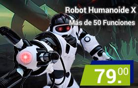 robot rc humanoide x