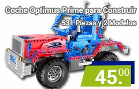 coche rc para construir optimus prime