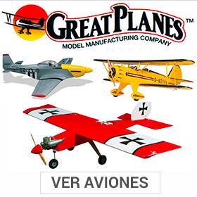 colección de aviones great planes