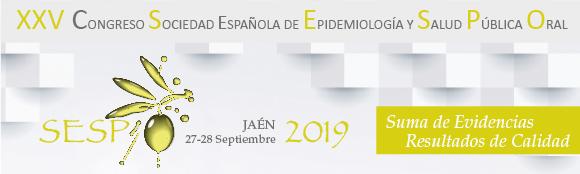 XXV Congreso SESPO Jaén 2019